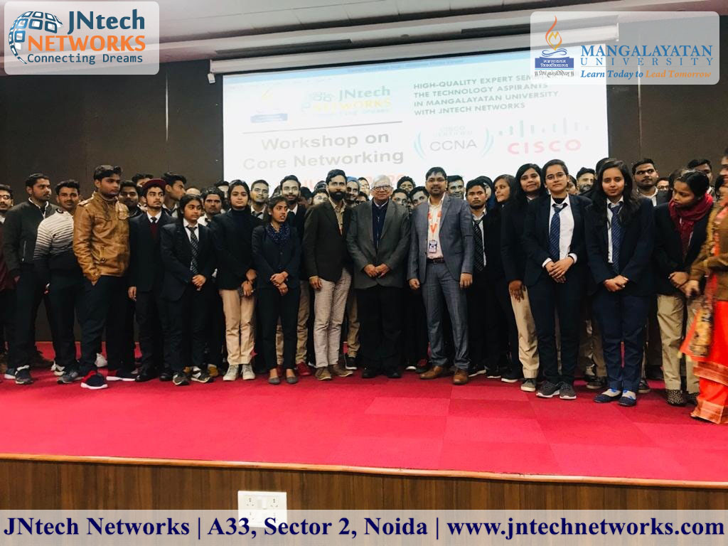 JNtech Networks_Workshop_at_Manglayatan_University